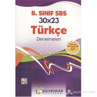 Güvender 8. Sınıf 30X23 Türkçe Denemeleri