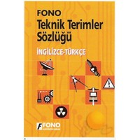 Fono İngilizce / Türkçe Teknik Terimler Sözlüğü