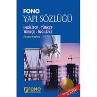 Fono İngilizce / Türkçe - Türkçe / İngilizce Yapı Terimleri