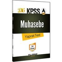 Filozof Kpss 2016 A Grubu Muhasebe Yaprak Test