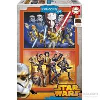 Star Wars Rebels (2X100 Parça Puzzle)