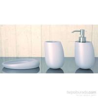 Hafele Kleiss Banyo Aksesuar Seti, Seramik,Beyaz
