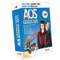 İlkumut 1.Sınıf Açık Öğretim Çözümlü Soru Bankası Seti (28 VCD + 7 Kitap)