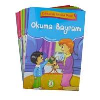 Odamdaki Kitaplık Seti (Eğik Yazılı - 10 Kitap Takım) (1. ve 2. Sınıflar İçin)