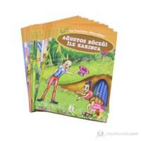 La Fontaine Masalları (10 Kitap Takım - Küçük Boy) (7 + Yaş)