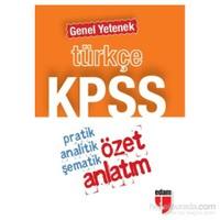 Edam 2014 KPSS Türkçe Genel Yetenek Özet Anlatım (Cep Boy)