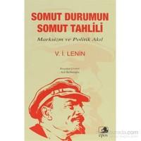 Somut Durumun Somut Tahlili-Vladimir İlyiç Lenin