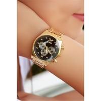 Morvizyon Clariss Marka Sarı Renk Bayan Saat