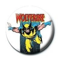 Pyramid International Rozet - Marvel- Wolverine Retro