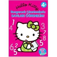 Hello Kitty Rengarenk Çıkartmalarla Sayıları Öğrenelim