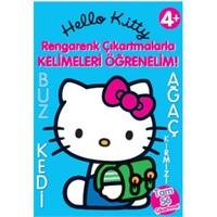 Hello Kitty Rengarenk Çıkartmalarla Kelimeleri Öğrenelim
