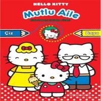 Hello Kitty Mutlu Aile Çıkartmalı Boyama-Kolektif