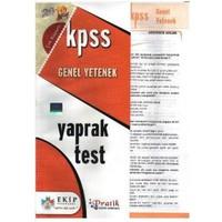 Ekip Kpss Genel Yetenek Yaprak Test