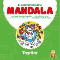 Çocuklar İçin Eğlendirici Mandala: Taşıtlar-Kolektif