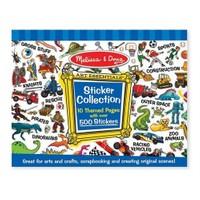 Melissa & Doug 4246 Çıkartma Koleksiyonu Mavi