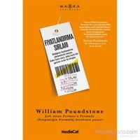 Fiyatlandırma Sırları - William Poundstone