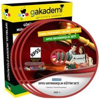Görüntülü Akademi Kpss Vatandaşlık Görüntülü Eğitim Seti 12 Dvd