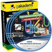 Görüntülü Akademi Kpss Matematik Görüntülü Eğitim Seti 21 Dvd