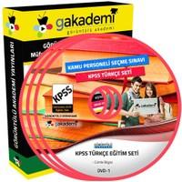 Görüntülü Akademi Kpss Türkçe Görüntülü Eğitim Seti 13 Dvd