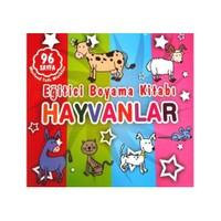 Eğitici Boyama Kitabı - Hayvanlar-Kolektif