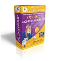 KPSS Türkçe Görüntülü Eğitim Seti 14 DVD + Rehberlik Kitabı YENİ