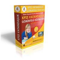 KPSS Vatandaşlık Görüntülü Eğitim Seti 6 DVD + Rehberlik Kitabı YENİ