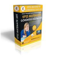 KPSS Matematik Görüntülü Eğitim Seti 22 DVD + Rehberlik Kitabı YENİ
