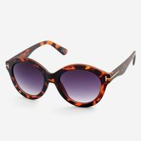 Almera Yeni Sezon Trend Moda Leopar Siyah Güneş Gözlüğü 37582