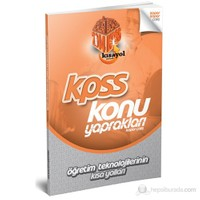 Kısayol KPSS 2014 Öğretim Teknolojileri ve Sınıf Yönetiminin Kısa Yolları Konu Yaprakları (Kopar Çal