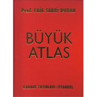 Kanaat Yayınları Büyük Atlas - Prof. Faik Sabri Duman - Faik Sabri Duran