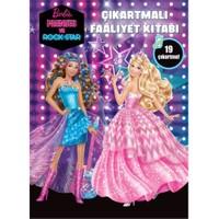 Barbie Prenses Ve Rockstar Çıkartmalı Faaliyet Kitabı-Kolektif