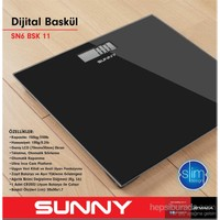 Sunny SN6BSK11 Elektronik Baskül