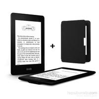 Kindle Paperwhite 2015 Elektronik Kitap Okuyucu + Kılıfı (4GB)