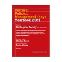 Cultural Policy And Management Yearbook 2011 (İngilizce)-Deniz Ünsal