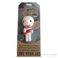Voodoo Love Your Job Anahtarlık