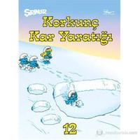 Şirinler 12 - Korkunç Kar Yaratığı ( L'abominable Creature Des Neiges)