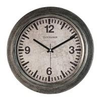 Clockmaker By Cadran Retro Vintage 30X30 Mdf Duvar Saati Cmm46