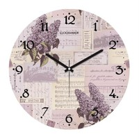 Clockmaker By Cadran 30X30 Mdf Duvar Saati Cmm6