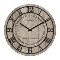 Clockmaker By Cadran Retro Vintage 30X30 Mdf Duvar Saati Cmm63