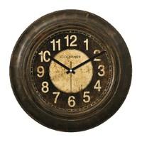 Clockmaker By Cadran Retro Vintage 30X30 Mdf Duvar Saati Cmm70