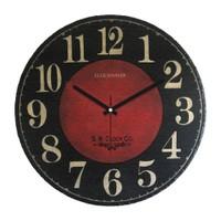 Clockmaker By Cadran Retro Vintage 30X30 Mdf Duvar Saati Cmm74