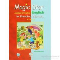 Magic Star Anaokulu İçin İngilizce - English for Pre-School Education Set