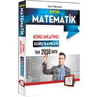 657 Yayınevi Kpss 2016 Matematik Konu Anlatımlı Soru Bankası - Umut Türkyılmaz
