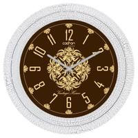 Cadran Luxury Dekoratif Çatlak Desen Duvar Saati-7
