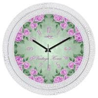 Cadran Luxury Dekoratif Çatlak Desen Duvar Saati-11