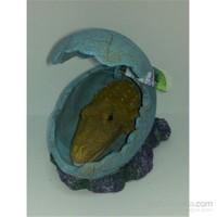 Akvaryum Dekor Timsah Yumurtası Tekli Dekor