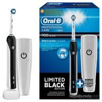 Oral-B Şarj Edilebilir Diş Fırçası Professional Care 700 Siyah Sınırlı Üretim (Seyahat Kabı Hediyeli