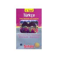 Sınav 4. Sınıf Türkçe Konu Anlatımlı Soru Bankası