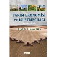 Tarım Ekonomisi Ve İşletmeciliği-İ. Hakkı İnan