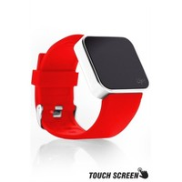 Upwatch Touch Shiny Silver&Red Kol Saati